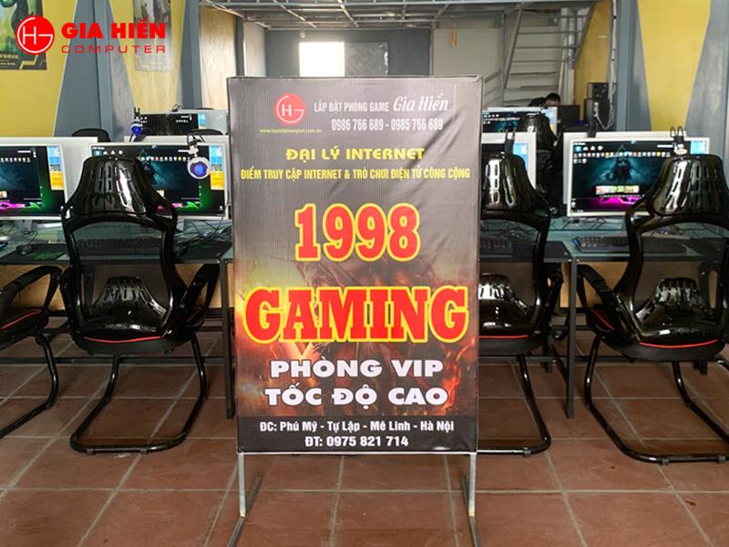 1998 Gaming tọa lạc tại huyện Mê Linh, Hà Nội.