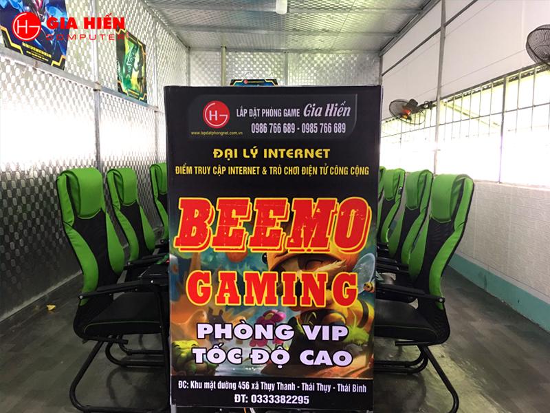 BEEMO GAMING vừa được Gia Hiến hoàn thiện tại Thái Thụy, Thái Bình.