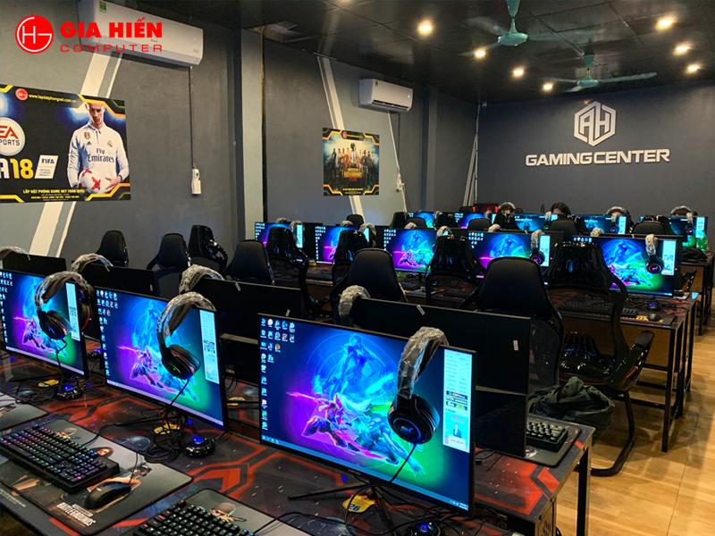AH Gaming được thiết kế theo mô hình Cyber game mini.