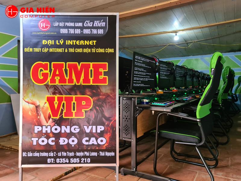 Game Vip tọa lạc tại huyện Phú Lương, Thái Nguyên.