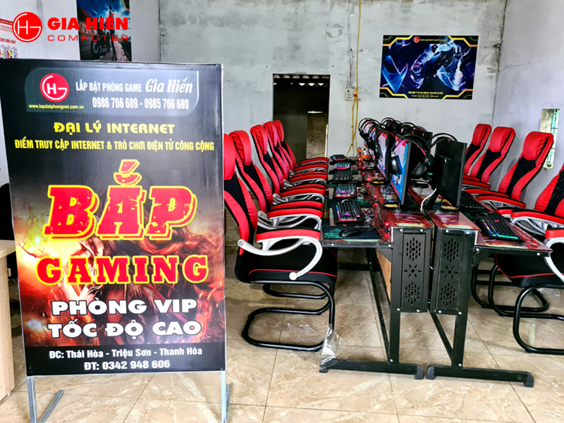 Bắp Gaming vừa được đội ngũ Gia Hiến hoàn thiện tại Triệu Sơn, Thanh Hóa.