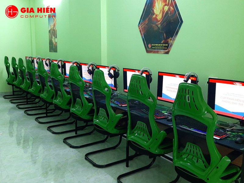 Phòng game sử dụng bàn phím Tomato S200 được nhiều Cyber game lớn tin dùng.