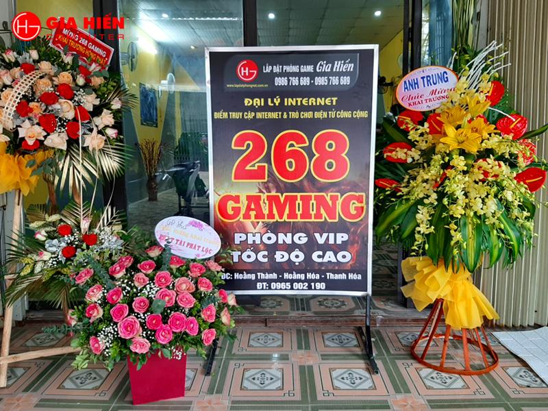 268 Gaming vừa được Gia Hiến hoàn thiện tại Hoằng Hóa, Thanh Hóa.