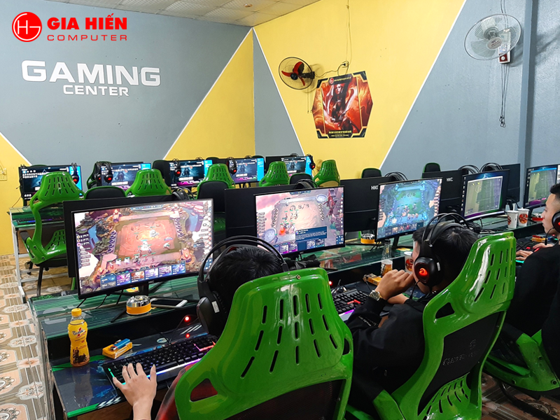 268 Gaming được thiết kế với 20PC cấu hình cao.