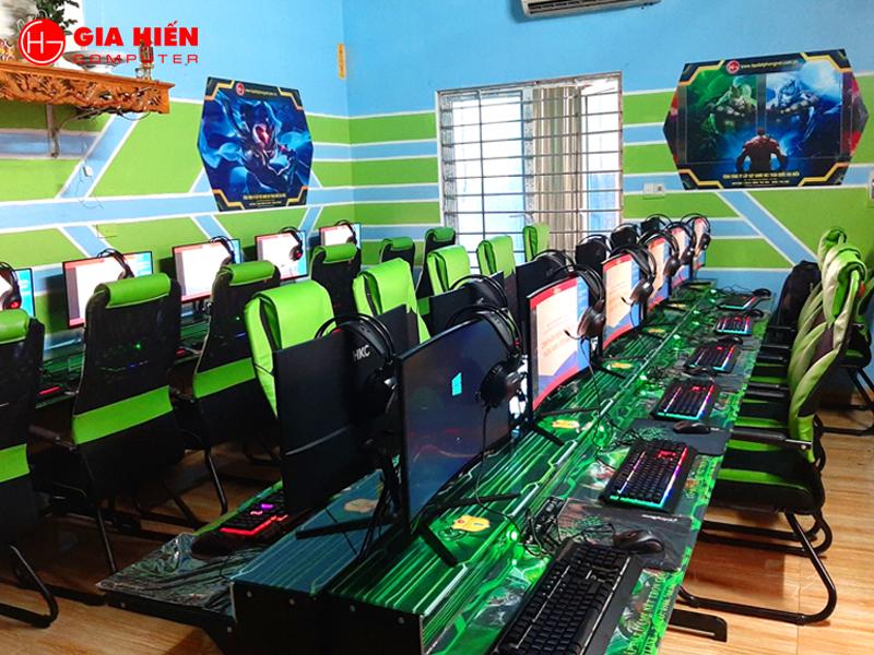 Hệ thống máy cấu hình cao đáp ứng chiến mượt mà các tựa game hiện nay.