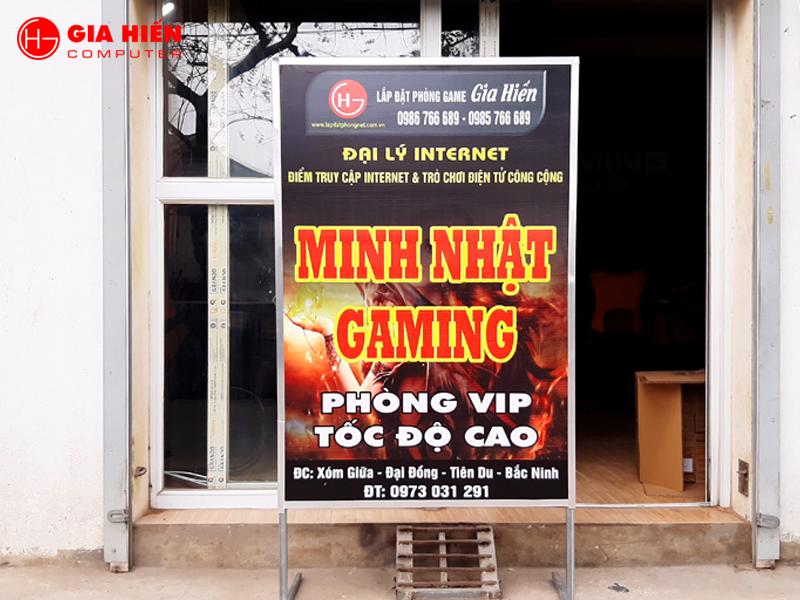 Minh Nhật Gaming tọa lạc tại một trong những trung tâm phát triển nhất phía Bắc.