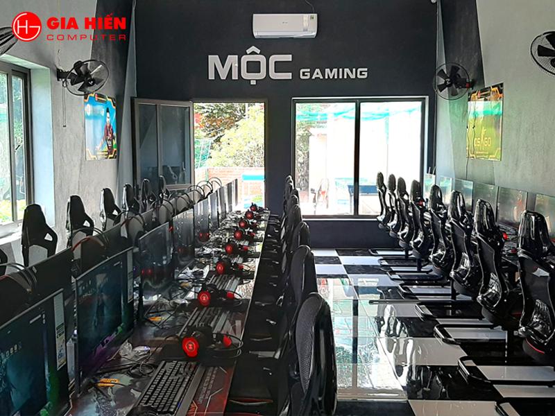 Mộc Gaming được thiết kế theo mô hình Cyber game mini