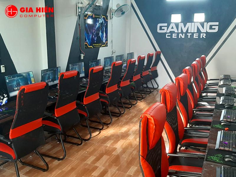 Phòng game sử dụng hệ thống bàn 2 được nhiều Cyber game lơn tin dùng.