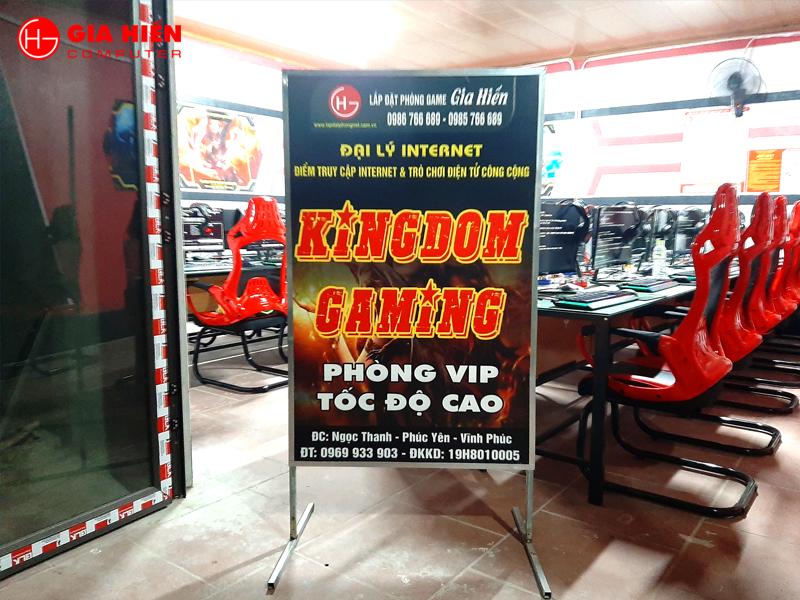 Kingdom Gaming tọa lạc tại huyện Phúc Yên, Vĩnh Phúc.