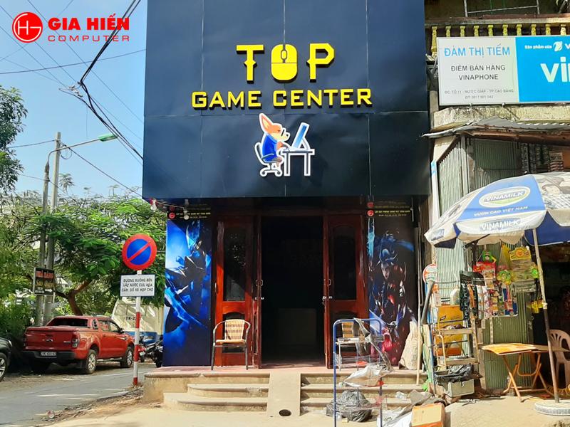 TOP GAME CENTER được thiết kế theo mô hình Cyber game.