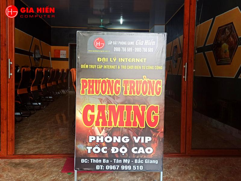 Phương Trường Gaming được thiết kế theo mô hình Cyber game mini