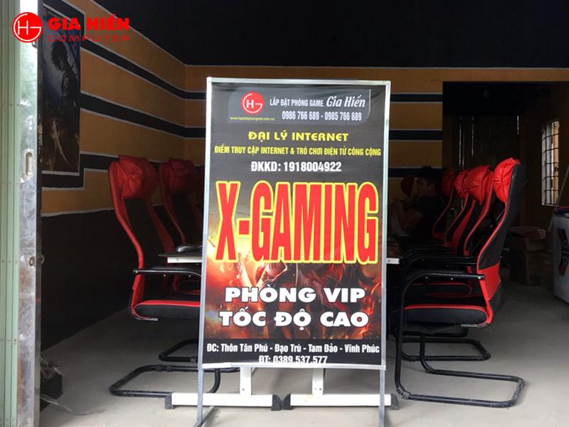 Cyber game mini X-GAMING tại Tam Đảo