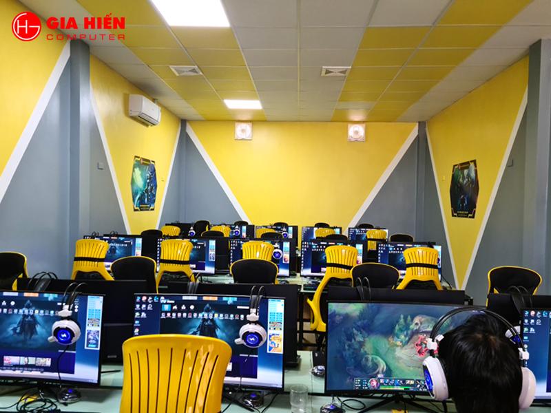 Phòng game được thiết kế theo mô hình Cyber game mini